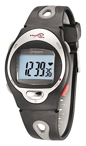 Oregon Scientific HR-102 - Reloj cardiofrecuencímetro, color gris