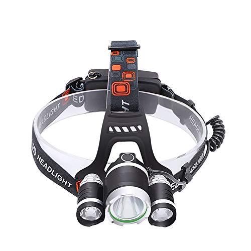 Stirnlampe super helle LED Stirnlampe LED T6 Stirnlampe Stirnlampe Angelbeleuchtung Fahrradlampe Taschenlampe Laterne für Camping Licht