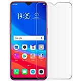 Doubledicestore Tempered Glass Full Screen Protection for Samsung Galaxy M20 Transparent