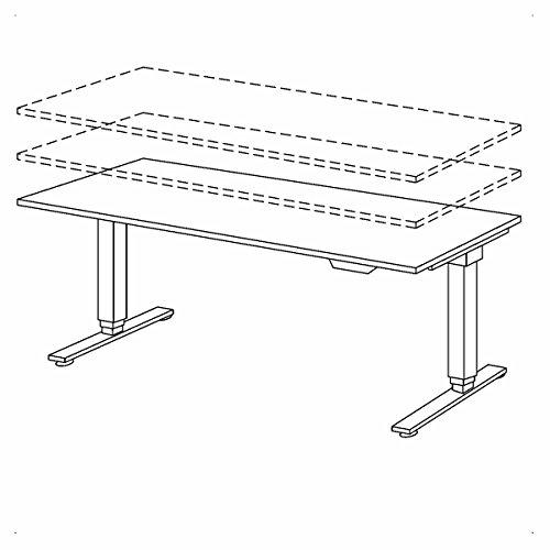 Bümö® mit Memoryfunktion, 120/160/180 x 80 cm , Dekor: wählbar - 8