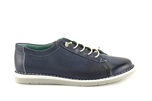 CONBUENPIE  111, chaussures femme Bleu Marine