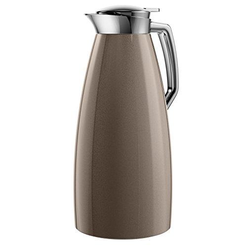 Emsa 514378 Isolierkanne (1.5 Liter, Aroma Diamond, Quick Tip Verschluss, 100% dicht, Plaza) bronze