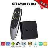 Beelink GT1 Ultimate TV BOX,Android 7.1,RAM 3GB+ROM 32GB,CPU Amlogic S-912 Octa Core ARM Cortex-A53 fino a 2GHz,Doppia Connessione WIFI,Ethernet LAN 1000M,Supporta 4K,H.265,OTG,Colore Nero