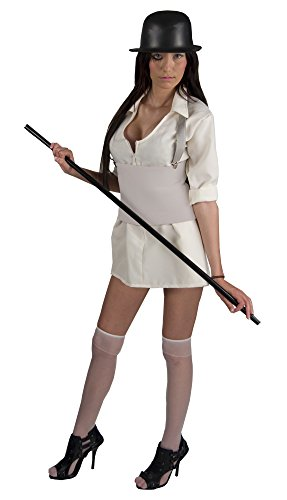 A Clockwork Orange Brother Droog Adult Women's Deluxe Costume Standard (Droog A Clockwork Orange Kostüm)