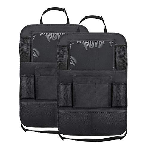 topxingch 2 x Auto-Rücksitz-Organizer, Multifunktions-Aufbewahrungstasche für Sitz, große Kapazität -