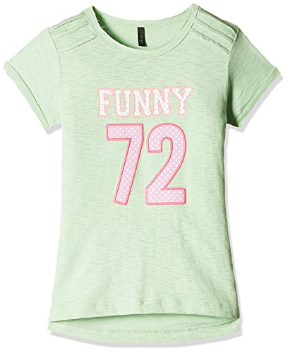 United Colors of Benetton Baby Girls' T-Shirt (16P3XF7C13JPG1AM_Green_0Y)
