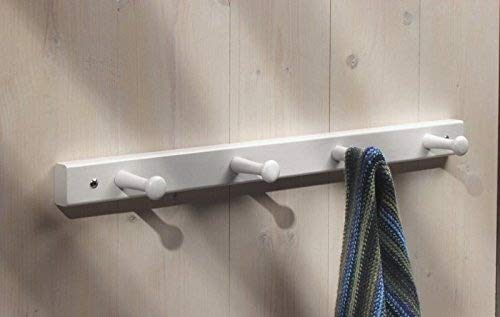 Mdesign set da appendiabiti da parete con ganci u appendino