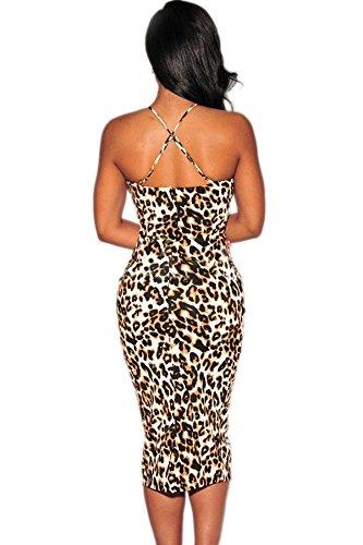 Toocool - Robe - Femme leopardato
