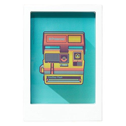 Polaroid Schreibtisch Rahmen–weiß