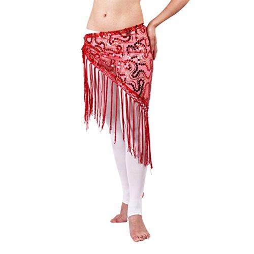 Aus Ländern Bilder Kostüm Verschiedenen Der - SunWanyi Damen Bauchtanz Kostüm Tribal Triangle Pailletten Quaste Hüfttuch Rock Gürtel Quaste Fransen