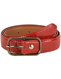 Tiekart women red belt