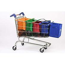 UPP Bags Original Carro de la Compra Bolsas + Extra Funda + – Bolsa isotérmica –