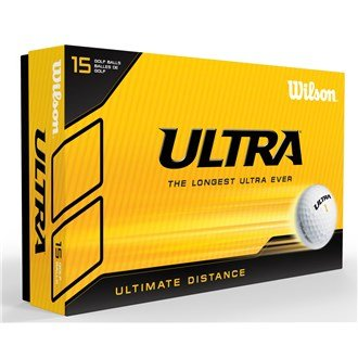 Wilson Ultra Lue 15 Golf Balls – White