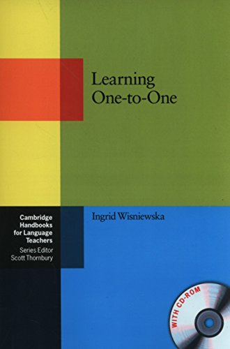 Learning One-to-One Paperback with CD-ROM (Cambridge Handbooks for Language Teachers)
