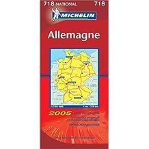 Carte routière : Allemagne