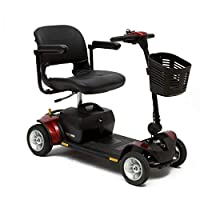 Pride Mobility Go-Go Elite Traveller Plus – High-Portability Electric Scooter – Travel Mobility Scooter for Adults