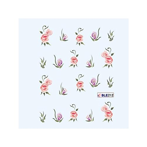 ble - Water decal - fleurs one stroke ble212