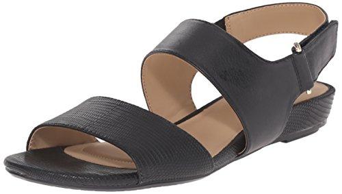 Naturalizer Lanna Robe Sandal Black smooth