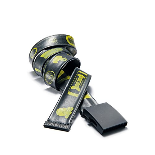 Preisvergleich Produktbild Tube Belt-RUBBME - Black Buckle 38mm-120cm