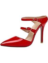 c8468a3a289a Amazon.fr   talon haut - 43   Mules et sabots   Chaussures femme ...