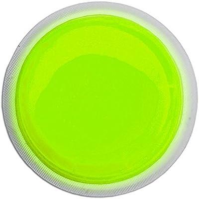 Cyalume LightShape - Paquete de 100 marcadores circulares luminosos  4 horas, color verde