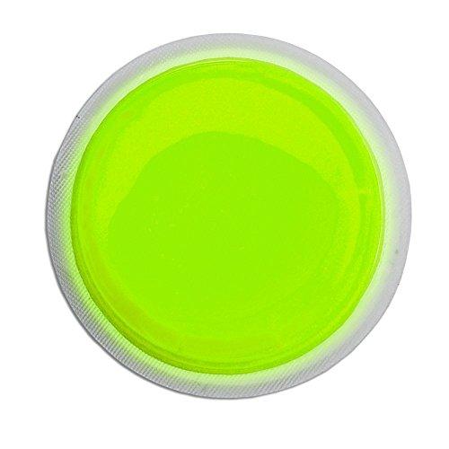 Cyalume LightShape Leuchtmarkierer ringförmig in Grün (100-er Pack) - Leuchtdauer 4h - selbstklebender Leuchtmarkierer mit 8cm Durchmesser - per Druck aktiviert - für Evakuierungen, Triage, Markierungen