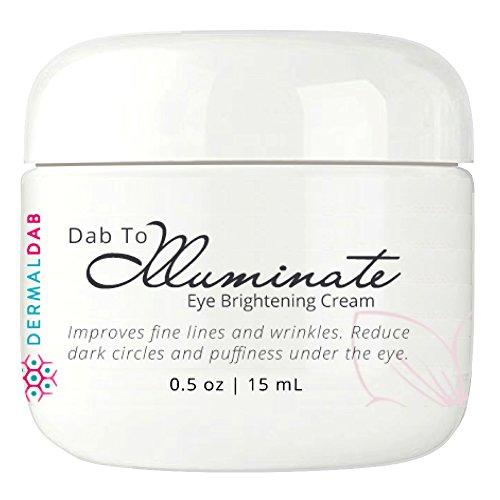 Crème pour les yeux anti-âge avec de l'acide hyaluronique, de la chrysine, du collagène hydrolysé, de l'extrait de pépins de raisin, de la caféine et plus encore! Cette formule anti-rides éclaircit également les cernes et enlève les poches pour les yeux! 0.5oz