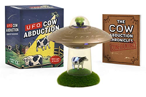 Zoom IMG-1 ufo cow abduction beam up