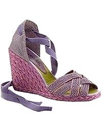 CASTELLER Sandalette - Sandalias de Vestir de tela Mujer