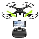 Potensic Drone avec caméra, 2.4Ghz RC U42W Drone RTF Hauteur-fixe pour Photographie aérienne UFO avec WiFi Camera