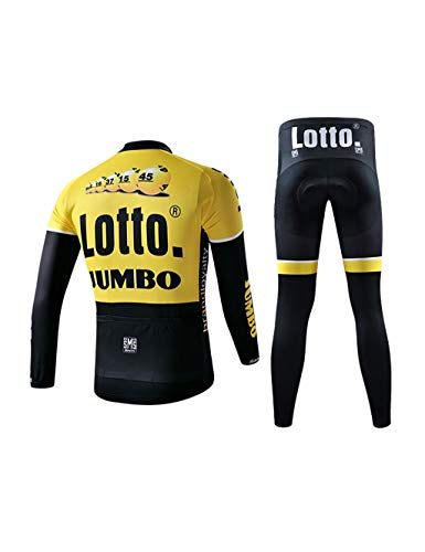 Fonly Hiver Hommes Et Femmes Cyclisme Velours Jersey...