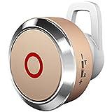 HuntGold universel mini 007 bluetooth sports casque à écouteurs stéréo pour Samsung iphone or