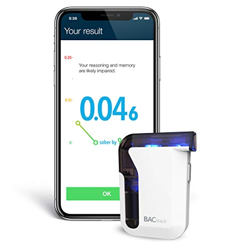BACtrack Mobile Breathalyser Smartphone Breathalyzer - links to IOS and Android Devices