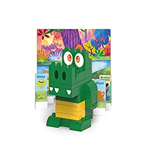 BIOBUDDI Swampies BB-0150 Juguete de construcción - Juguetes de construcción (Juego de construcción, Verde, Amarillo, 1,5 año(s), 41 Pieza(s), Niño/niña, Niños)