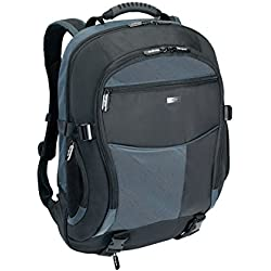 Targus TCB001EU Atmosphere XL Sac à dos pour ordinateur portable jusqu'à 17/18'' - Noir & Bleu