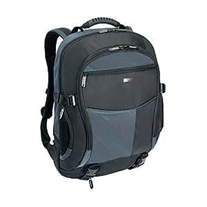 Targus TCB001EU Atmosphere XL Laptop Computer Backpack fits 17 - 18 inch laptops, Black/Blue