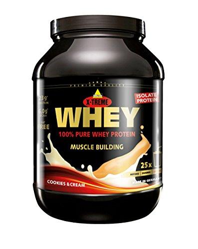 Inkospor X-Treme Whey Protein, Cookies & Cream, 750g Dose -