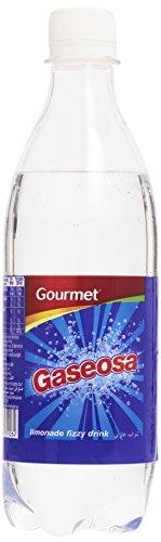 Gourmet Gaseosa con Edulcorantes - Paquete de 6 x 500 ml - Total 3000 ml