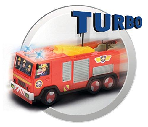 RC Auto kaufen Feuerwehr Bild 2: Dickie Toys 203099612 - RC Feuerwehrmann Sam Jupiter, funkferngesteuertes Feuerwehrauto, 22 cm*