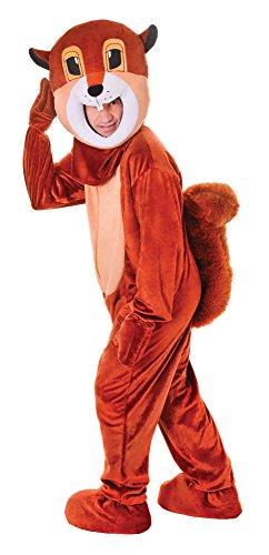 Bristol Novelty AC472Eichhörnchen Big Head Kostüm, Blumenkasten Brust Größe (Kind Eichhörnchen Kostüm)