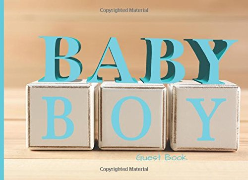 """Baby Boy Guest Book: Message Book, Memory, Guestbook 