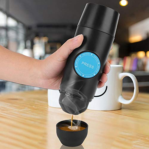 41269gH KOL. SS500  - Hand-held Car Coffee Machine, Mini USB Chargable Coffee Capsule Maker for Home Travel Camping Easy Coffe Easy Life