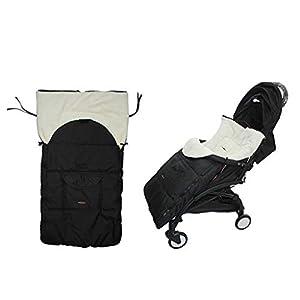 DENGHENG Baby Sleeping Bag Infant Winter Stroller Thick Warm Envelope Sleepsacks Footmuff   2