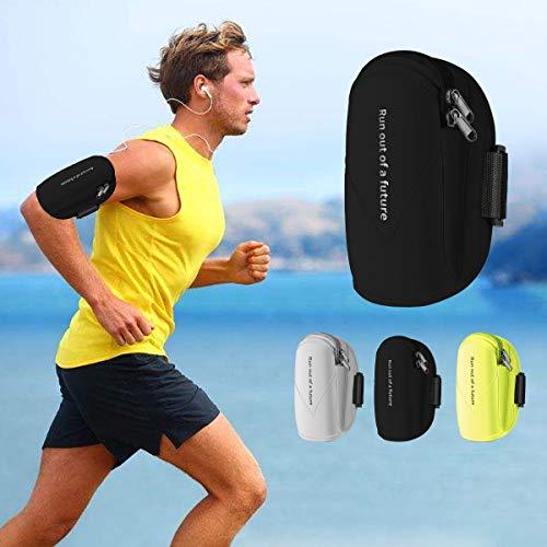 Handy Armband Joggen Sportarmband Wasserdicht Sweatproof Armband für iPhone X/8/8 Plus Samsung S9/S8/S7- bis 6.2 Zoll