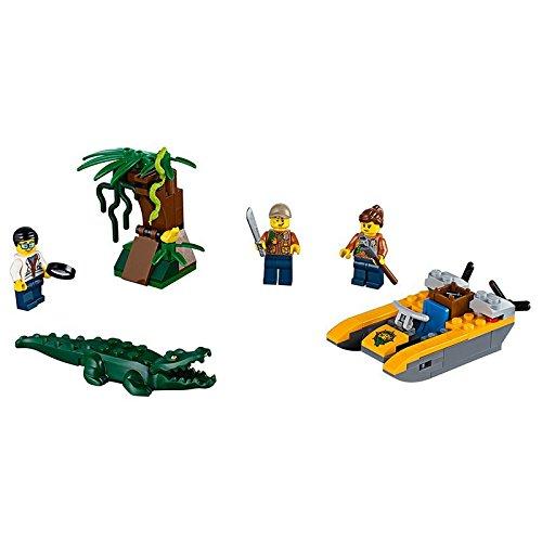 Preisvergleich Produktbild LEGO City 60157 - Dschungel-Starter-Set