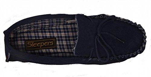 Dunlop , Mocassins pour homme Bleu - Bleu marine