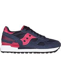 Saucony zapatos zapatillas de deporte mujer en ante nuevo shadow blu