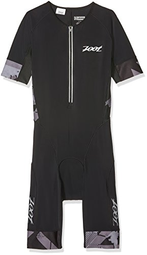 Zoot Herren Triathlonanzug Ultra Tri Aero Skinsuit, Black, L
