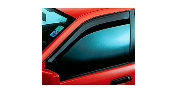 Versione 2 ClimAir 46111 Visiera per finestrini Adatta per Renault Trafic 2014-Opel Vivaro 2014-Nissan NV300 2016-Fiat Talento 2016-