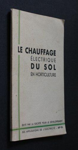 Le chauffage électrique du sol en horticulture